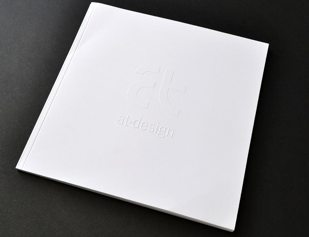 Imagebroschüre at-design