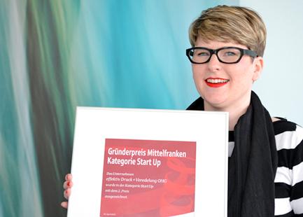 Kerstin Denzler Gründerpreis Sparkassen Mittelfranken