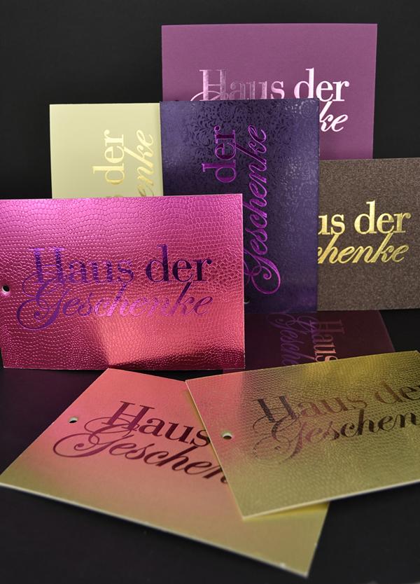 Liebling des Monats: Anhängerkarten für Weihnachtsbäume