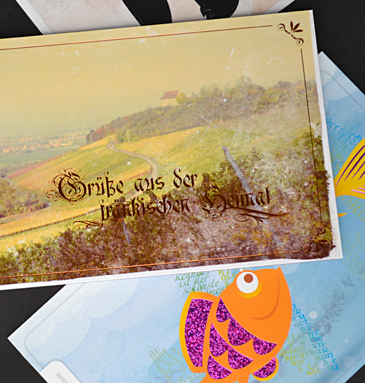 Liebling des Monats: Veredelte Postkarten